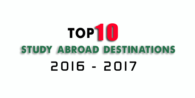 Top 10  Study Abroad Resources: